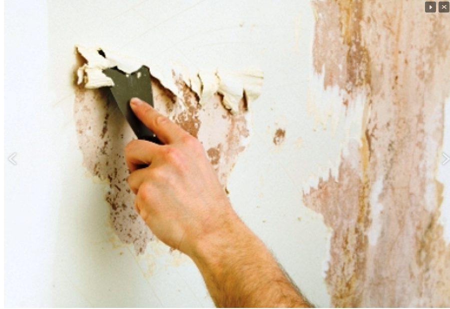 Зачистка стен шпатеелм