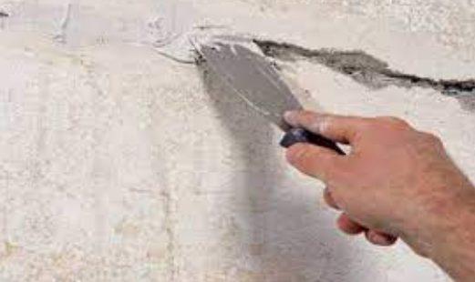заделать трещины в стене